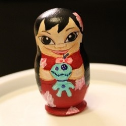 Painting Your Own Nesting Dolls