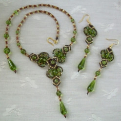 Original Designs in Hand Crafted Beaded Micro Macrame Jewelry.