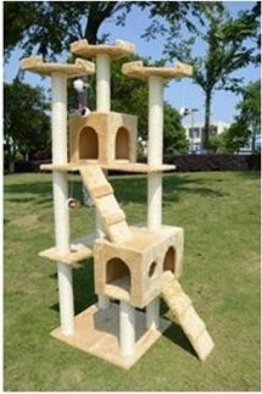 6 foot Cat Tree Condo