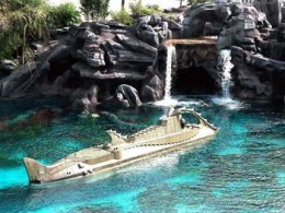 The 20,000 Leagues Under the Sea Submarine Voyage was a Disney World Magic Kingdom attraction from 1971 - 1994.