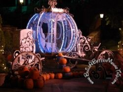 Cinderella's Carriage at Mickey's Not So Scary Halloween party (Disney World / Magic Kingdom)