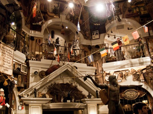 The Adventurer's Club (1989 - 2008) at Disney World's Downtown Disney is now closed but it certainly captured the fun spirit of