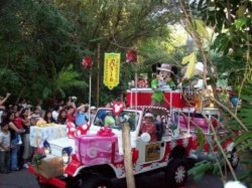 Mickey's Jingle Jungle Parade at Disney's Animal Kingdom Park