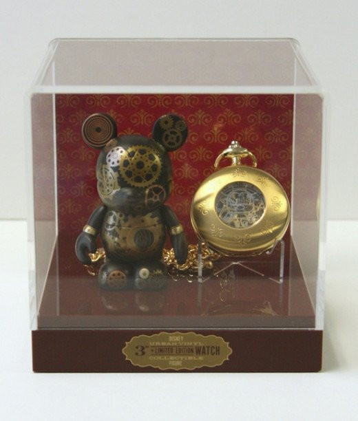 Okay....I totally want this Vinylmation Steampunk pocket watch.