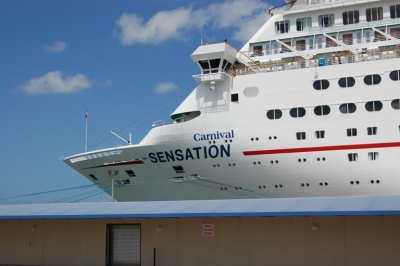 Disney, Norwegian, Carnival, & Royal Caribbean all sail out of Port Canaveral.