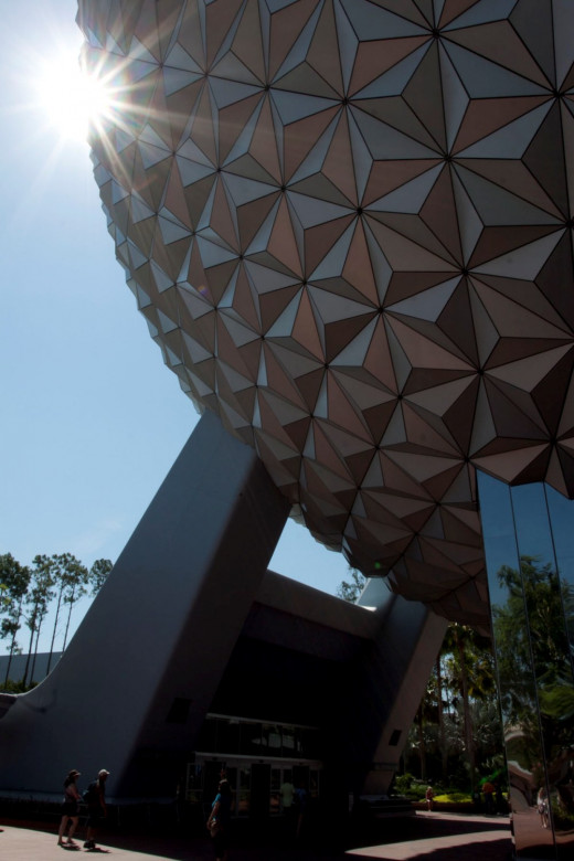 Spaceship Eart at Epcot in Disney World