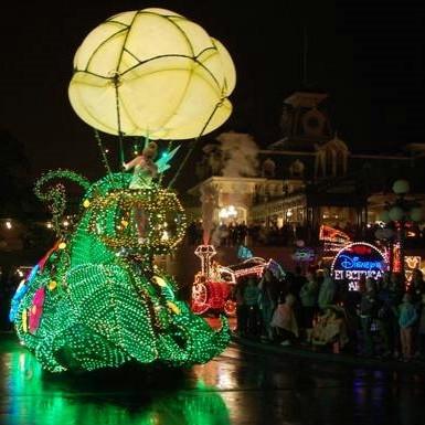 Disney's Main Street Electrical Parade float