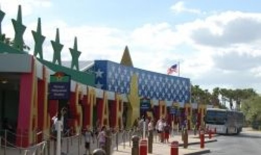 Disney's All-Star Sports Resort Hotel at Disney World in Orlando, Florida.