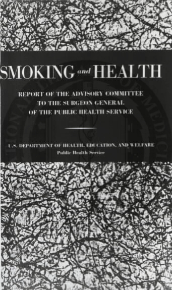 On January 11th, the Surgeon General released its landmark report that clearly states that smoking carries severe health risks.  Warning labels on cigarette packages soon follow.  Fortunately my parents had never smoked so there was no change needed
