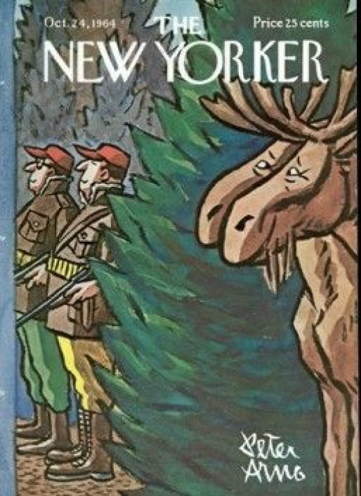The cover of the New Yorker from October 24, 1964