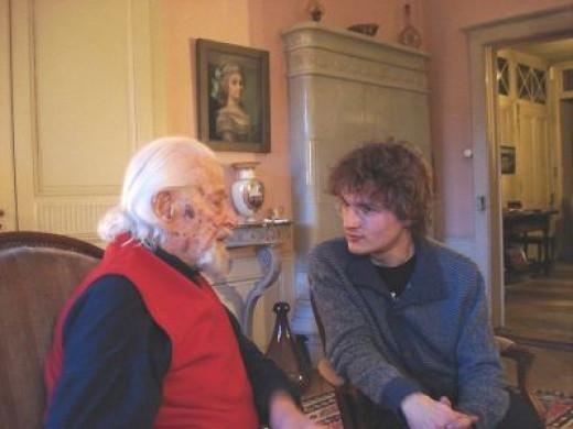 Hugues Cuénod (Switzerland), centenarian