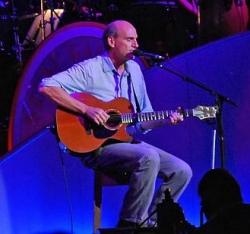 James Taylor at Tanglewood in 2008.