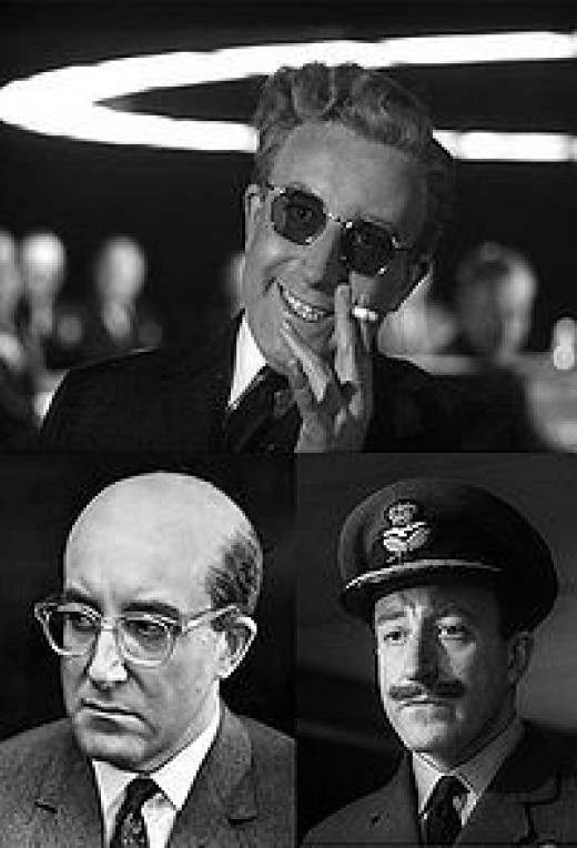 Columbia Pictures agreed to finance Dr. Strangelove on condition that Peter Sellers play at least four major roles. This stemmed from the studio's impression that much of the success of Lolita (1962) was based on Sellers playing multiple roles.