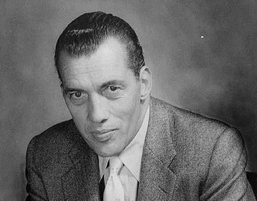 Ed Sullivan, 1955.  Photo courtesy of Wikimedia Commons.