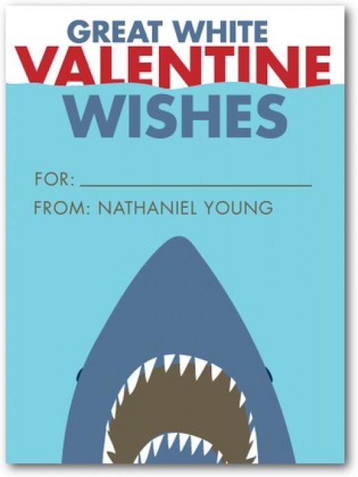 shark valentines
