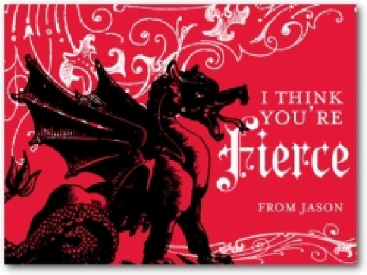 fierce dragon valentines