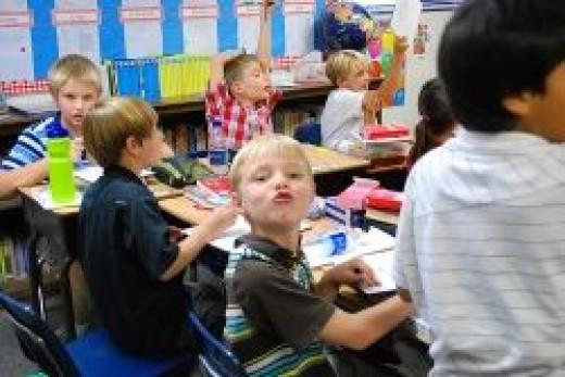 Kids in Elementary School (Click to enlarge)