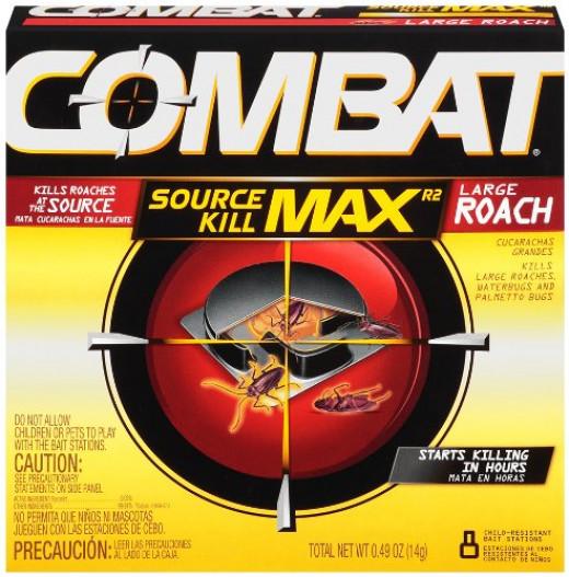 Combat child safe cockroacheas traps