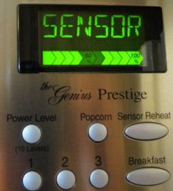 Panasonic Microwave Oven Sensor Reheat Mode