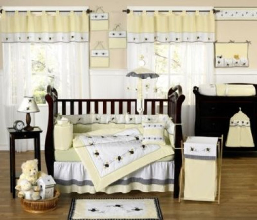 Beautiful Honey Bee Nursery Theme