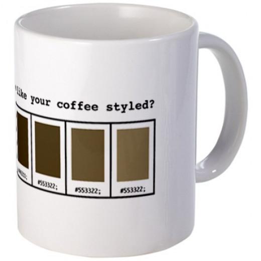 Coffee Mug for Web Designers