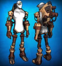 Steampunk cyborg set, courtesy of championsonline.com