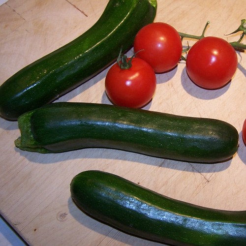 courgette-and-tomatoes