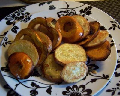 roasted pumpkin and potato