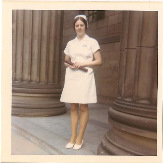Graduation Dundee 1970