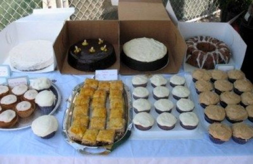 The Traditional Bake Sale Cakes
