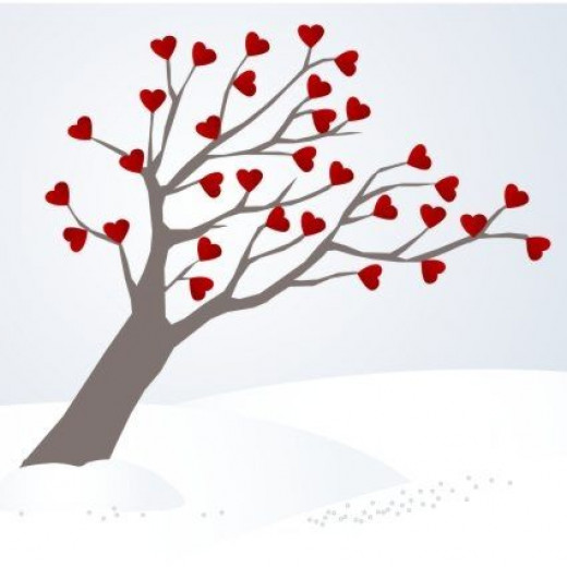 A Beautiful Valentines Tree by rknds