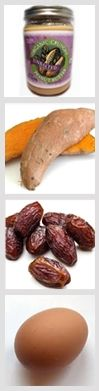 no sugar peanut butter cookies - ingredients