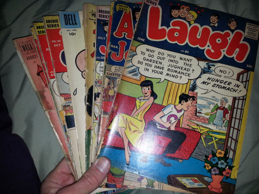 Some old 10 cent cover comics (golden and silver age) that turned out to be worth something!