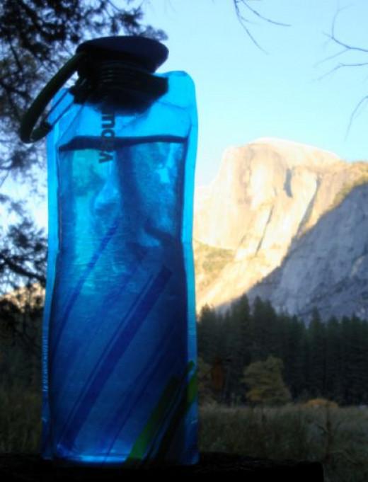 Vapur Bottle with Half Dome. Copyright (c) 2013 Kirsti A. Dyer