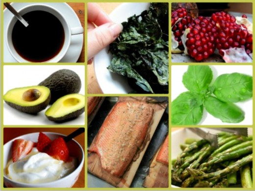 Superfoods Collage by Kirsti A. Dyer