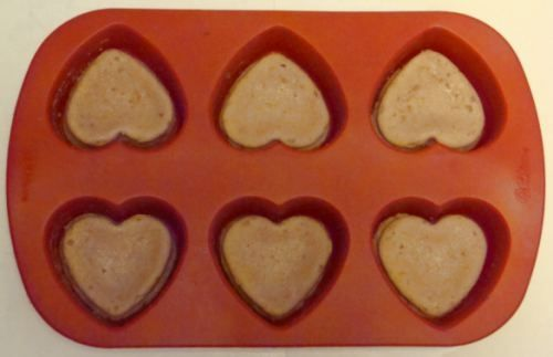 Baking Heart Cupcakes by Kirsti A. Dyer