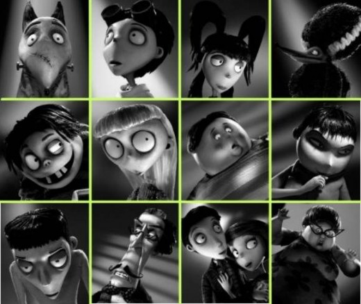 Images from Frankenweenie on Facebook