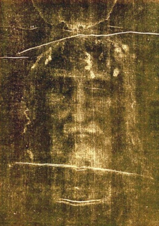 Shroud of Turin. Image of Jesus Christ