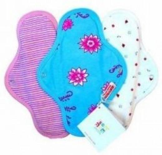 Sckoon Organic Cotton Cloth Menstrual Pads