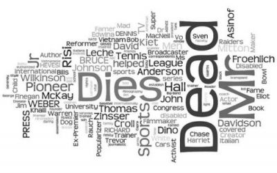 Obituary Wordle