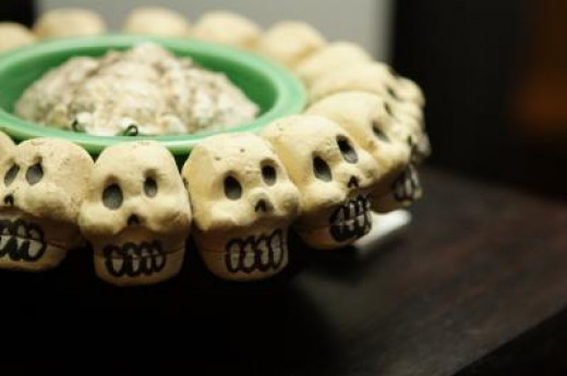 Scary Halloween Recipes Where You Can Find Out How To Make Gross, Green Slime Salsa Dip.
