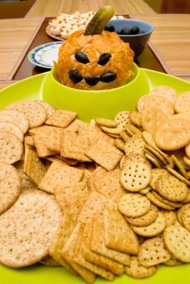 How To Make A Jack O Lantern Face Cheese Ball