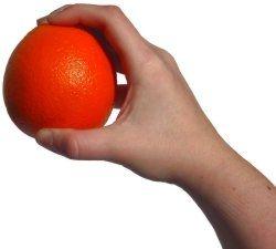 Orange in the Hand