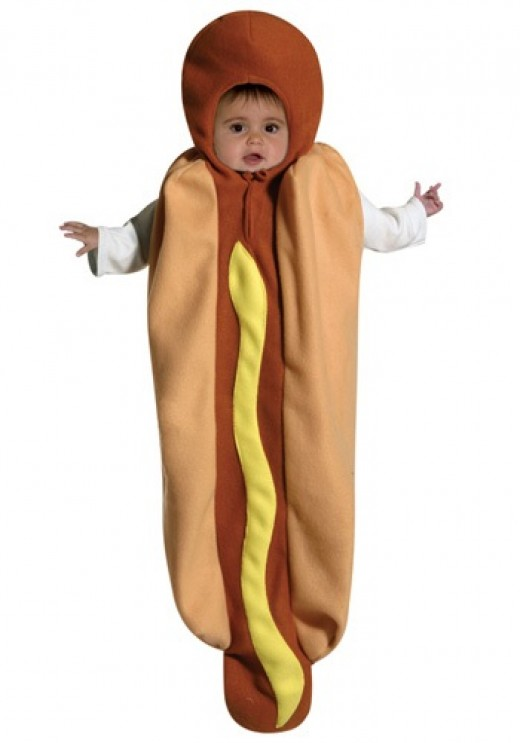 Baby HotDog Bunting Costume For Halloween - You can find it for sale on this page!