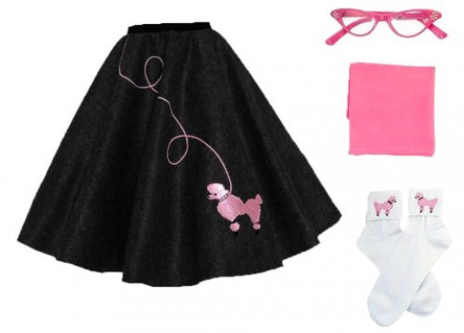 Poodle Skirt Outfit for Adult