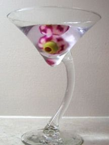 Thirsty?  How About A Bloody Eyeball Martini?