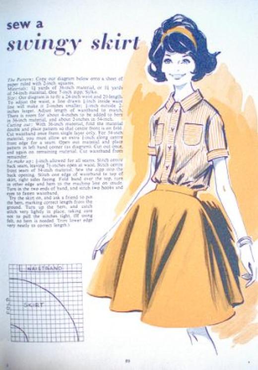 Sew a Swingy Skirt