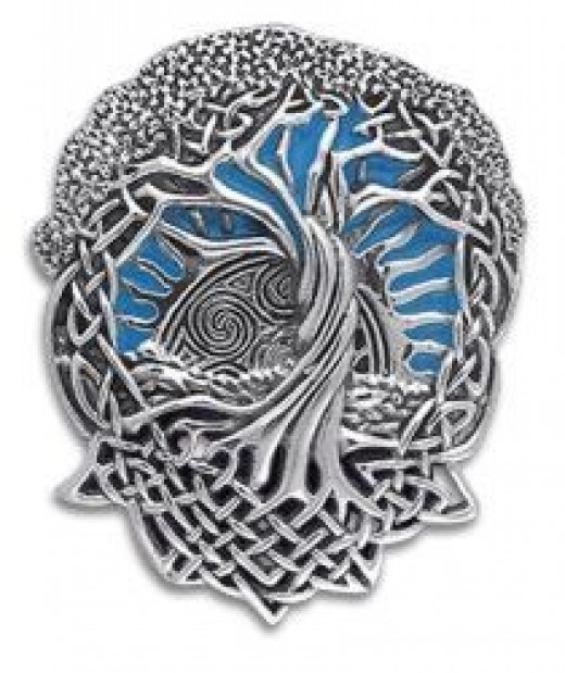 Celtic Tree Pendant