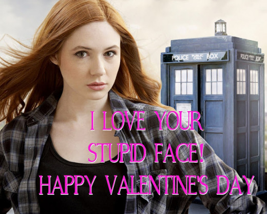 The Amy Pond Valentine Card For Fans Of Amy