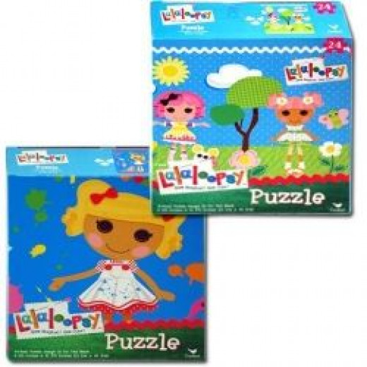 Lalaloopsy Puzzles Are Fun For A Girl's Party.  Make It A Relay Style Game, Form Teams And Each Girl Takes A Turn To Place One Piece Correctly In The Puzzle.  Photo Credit: Amazon